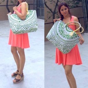 Other - 🏖Beach Bag Tote handmade shopping bad multi use🏝